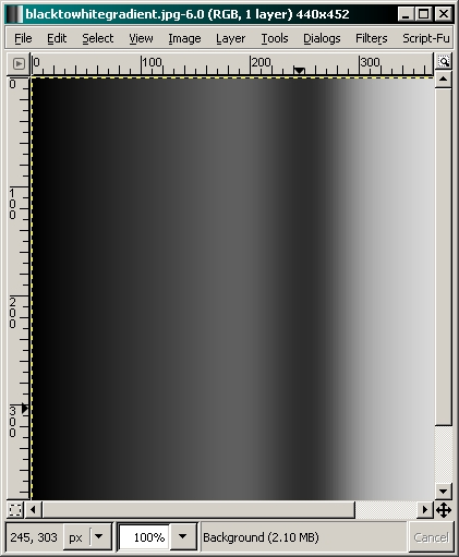 how to make lines less pixelated in gimp